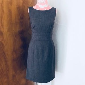 H&am Gray sheath dress 8